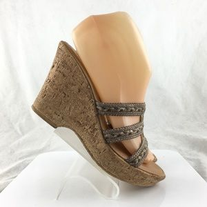 Naturalizer Wedge Sandals size 8 M